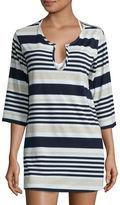 A.N.A a.n.a Long Sleeve Stripe Tunic
