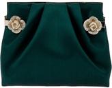 Valentino Garavani flower embellished clutch