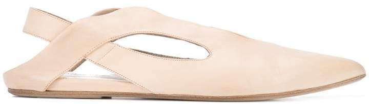 Marsèll pointed slingback slipper