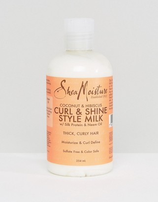 Shea Moisture Coconut and Hibiscus Curl & Shine Gel Style Milk