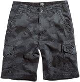 Fox Gray Camouflage Slambozo Cargo Shorts - Boys