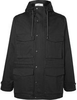 Ami - Cotton-twill Hooded Jacket