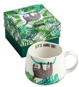 Rosanna Be Wild Sloth Ceramic Mug