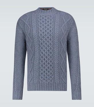 Loro Piana Cashmere fisherman sweater