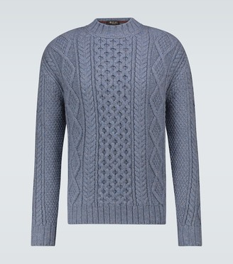 Loro Piana Fillmore cashmere fisherman sweater