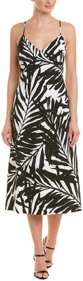 Michael Kors Silk-Lined Slip Dress