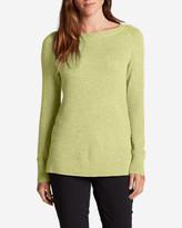 Eddie Bauer Women's Lux Thermal - Crewneck Sweater
