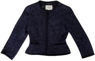 LK Bennett Blue Cotton Jacket for Women