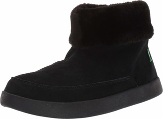 Sanuk Women's Bootie Suede Ankle Boot