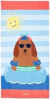 Pottery Barn Kids Dog Mini Beach Towel, Multi