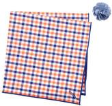 Alara Baker Pocket Square & Lapel Pin Set