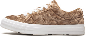 Converse Golf Le Fleur OX 'Quilted Velvet - Brown Sugar' Shoes - Size 4
