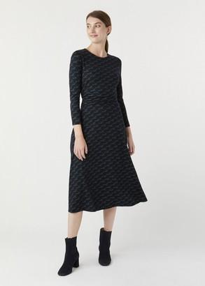 Hobbs Bayview Midi Dress