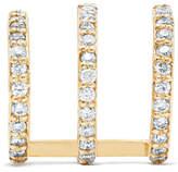 Beaufille Ringlet 10-karat Gold Diamond Earring
