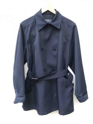 Max Mara Weekend Navy Trench Coat for Women Vintage