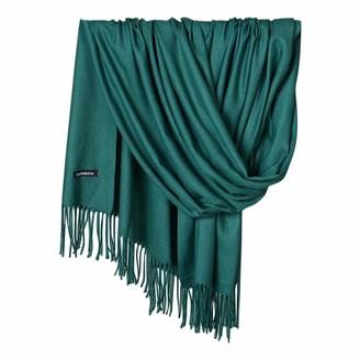 Musheng Scarf Long Scarf for Women Musheng Unisex Elegant Pure Color Pashmina Virgin Wool Cashmere Scarf Shawl (W)