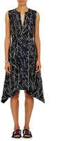Proenza Schouler Women's Abstract-Print Silk Twill Dress