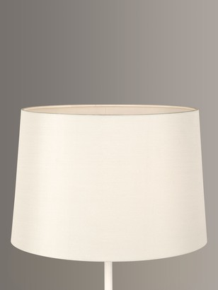 John Lewis & Partners Gemma Silk Tapered Lampshade, Oyster