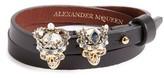 Alexander McQueen Women's King & Queen Wrap Bracelet