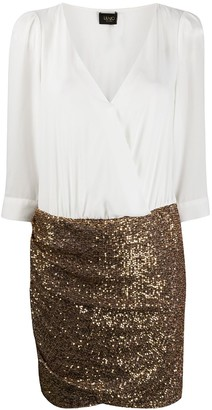 Liu Jo Sequinned Mini Dress