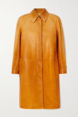 Miu Miu Leather Coat - Yellow