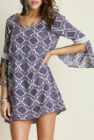 Entro Purple Berry Dress