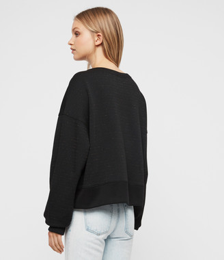 AllSaints Piro Shimmer Sweatshirt