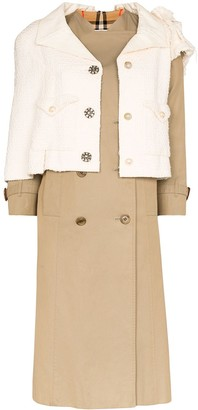 Tiger In The Rain reworked Burberry and Chanel trench coat