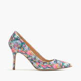 J.Crew Elsie pumps in glitter palm