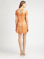 Candela Sequined Mesh Dress