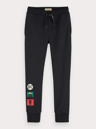 Scotch & Soda Artwork Sweat Pants