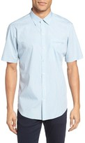 Zachary Prell Men's Nuno Trim Fit Plaid Sport Shirt