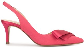 Paule Ka Slingback Ribbon Detail Pumps