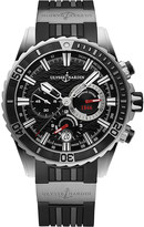 Ulysse Nardin 1503-151-3/92 Marine Diver Chronograph stainless steel watch