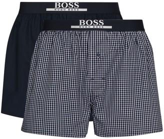 HUGO BOSS Cotton Logo Waistband Boxers