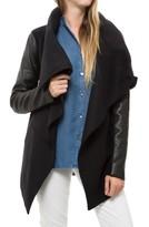 Mackage Vane Wool Leather Jacket