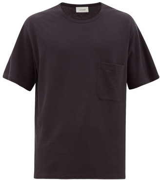 Lemaire Patch-pocket Cotton-jersey T-shirt - Dark Grey