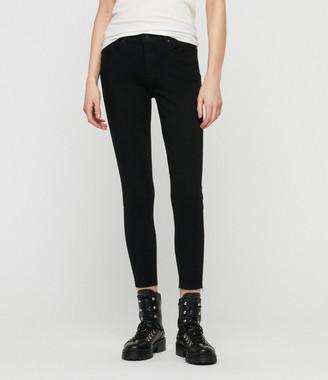 AllSaints Grace Bistretch Ankle Skinny Jeans