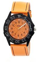 Crayo Fun Collection CRACR2504 Unisex Watch with Leather Strap