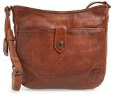 Frye Melissa Button Crossbody Bag - Brown