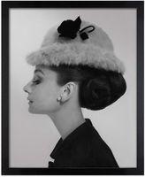 Givenchy Cecil Beaton Audrey Hepburn Bowler Hat Wall Art