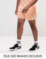 Puma Plus Retro Mesh Shorts In Orange Exclusive To Asos 57590107