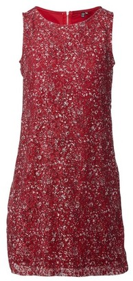 Dorothy Perkins Womens Red Print Dress, Red