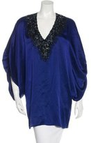 Andrew Gn Embellished Dolman Sleeve Tunic