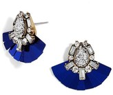 BaubleBar Women's Gladys Crystal Stud Earrings
