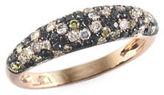 Effy 0.73 TCW Multi-Tone Diamond, 14K Rose Gold Ring