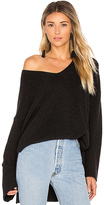 Velvet by Graham & Spencer Marci Sweater in Black. - size M (also in S,XS)