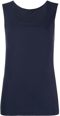 Patrizia Pepe Square Neck Vest Top