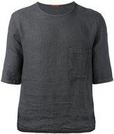 Barena chest pocket boxy T-shirt - men - Linen/Flax - 50