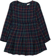 Morley Colette Checked Pleated Dress